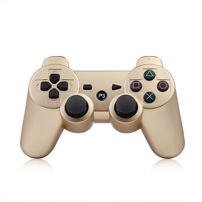 Wireless Bluetooth Controller DualShock Remote Gamepad Joystick For PS3