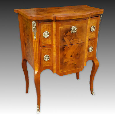Napoleon III Commode Dresser Chest of Drawers inlaid - 19th century