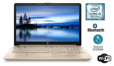 """HP 17.3"""" Touch Laptop PC Intel Core i5 8GB 1TB 3.4GHz Backlit Keyboard Rose Gold"""