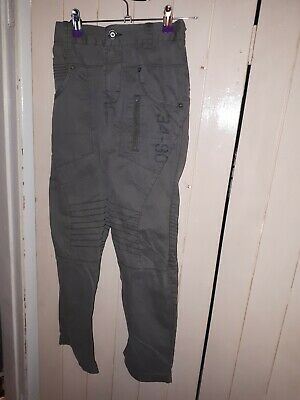 NEXT: Boys Age 10/11 Green Combat Trousers