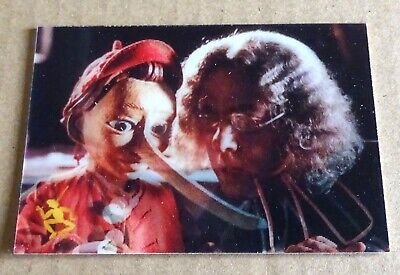 INKWORKS DISNEY PINOCCHIO TRADING CARDS; No L2  LENTICULAR  CHASE CARD 1996