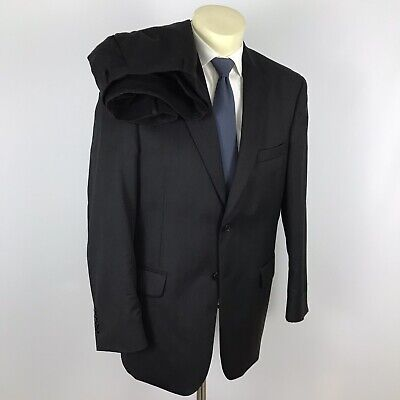 $795 new Jos A Bank Traveler darker grey  pattern suit 40 L 34 W  tailored fit