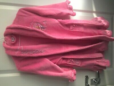 Girls dressing gown size 6-7 by disney