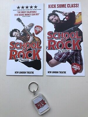 Bag Tag. School Of Rock Keyring The Musical
