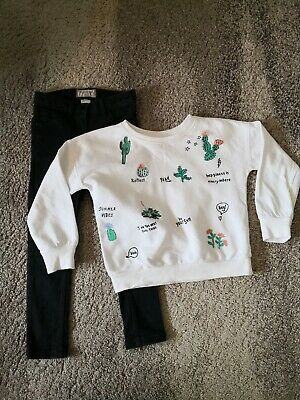 Cute Next Girls Outfit Size 6 Years