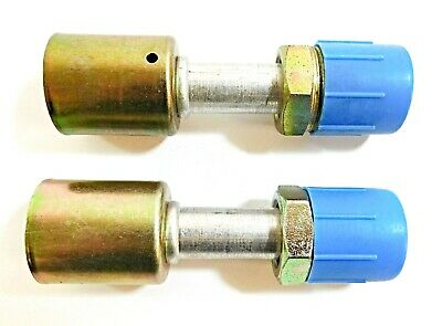 """Gates Series Crimp-on End Fittings 5/8 (-12)"""" 12ACA-12MTON G45 (Pack of 2)"""
