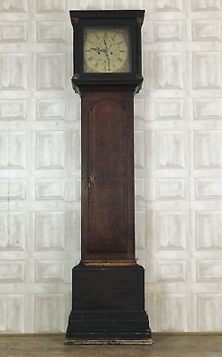18th Century Oak Longcase Grandfather Clock - Robert Davy Hoveton *£55 DELIVERY*