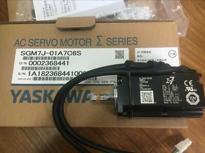 1PC YASKAWA SGM7J-01A7C6S SERVO MOTOR SGM7J01A7C6S New In Box Expedited Shipping