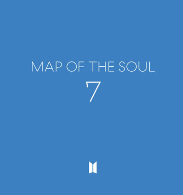BTS MAP OF THE SOUL 7 Full PACKAGE Unfold Poster