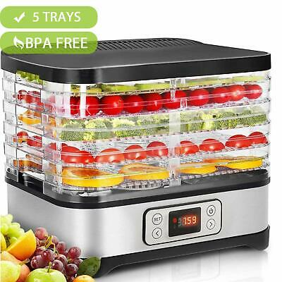 Hopekings Déshydrateur Fruits Alimentaire 250W Thermostat Réglable
