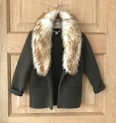 RIVER ISLAND *2-3y GIRLS JACKET Faux Fur TRIMS OUTFIT AGE 2-3 YEARS