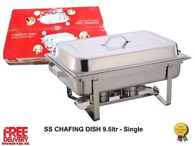 9.5L Single Compartment Chafing/Buffet/Party Dishes or Food Warmer