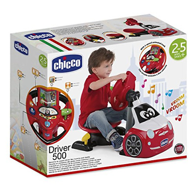 Chicco driving simulator car toy, Fiat 500driver