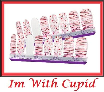 """Color Street Nail Polish Strips / art, (Valentine), """"I'M With Cupid"""""""