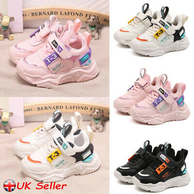 Kids Boys Girls Running Trainers Sneakers Children Comfort Sports Casual Shoes