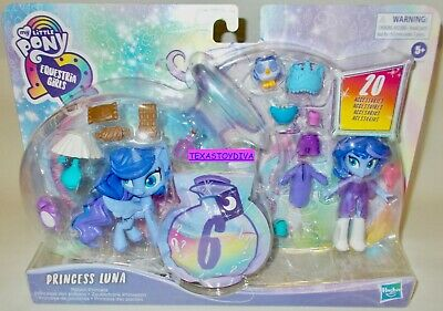 My Little Pony Equestria Girls *PRINCESS LUNA* Has A Slumber Party Playset 2020