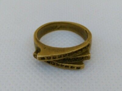 Extremely Rare Ancient Bronze Ring Viking Artifact Bronze Authentic