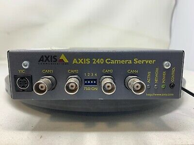 Axis 240 4-Channel Video Server MW