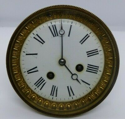 Antique Large French 4.75 Inch Striking Clock Movement
