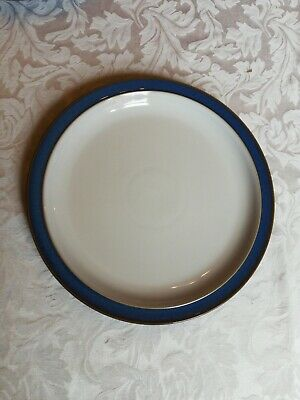 Denby Imperial Blue dinner plate 10.25 inches first quality