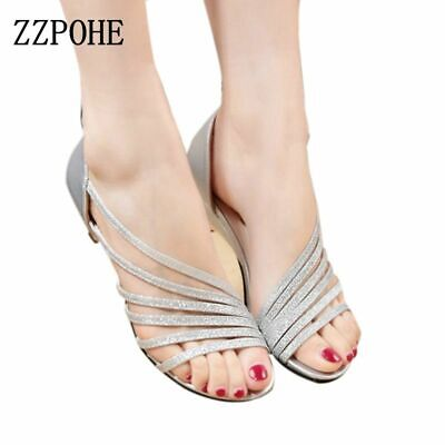 Zzpohe 2017 Summer New Women Fashion Sexy Sandals Strand Empty Fish Head Shallow