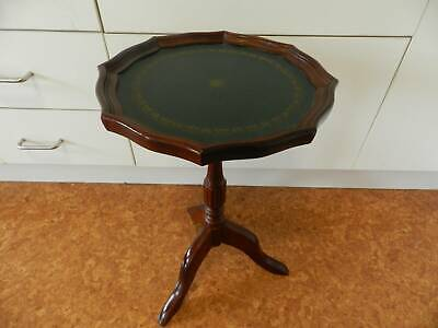 side table small( period style  -  leather insert  )