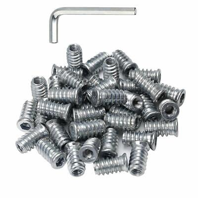 100 pieces Threaded Insert Nut,12 x 15mm 1//4-20 Int Thread MADE IN GERMANY