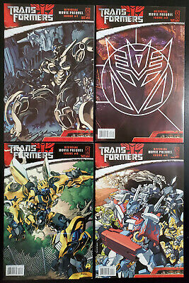 Transformers Official Movie Prequel #3 Cover B Variant IDW CB7496