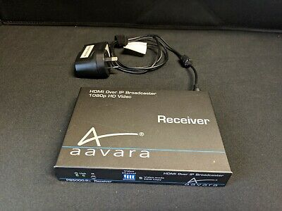 aavara HDMI Over IP Broadcaster 1080p HD Video (PB5000-R+ Receiver)