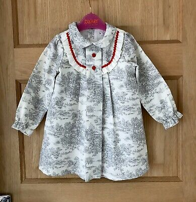 ALBER Spanish DESIGNER *BABY GIRLS Stunning Traditional DRESS 12-18 MONTHS