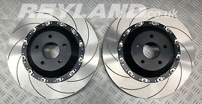 Focus RS MK2 365mm two piece floating brake disc kit to replace Alcon Mountune