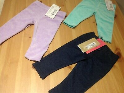 Bundle of girls Leggings/Jeggings, 6-9 m, Marks & Spencer, Bnwt