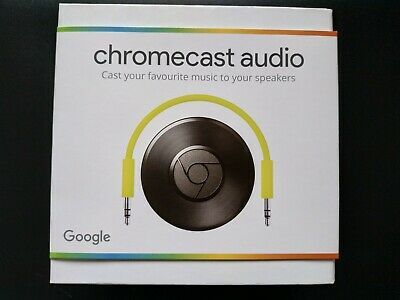 Chromecast Audio Media Streamer *BRAND NEW SEALED* UK Version