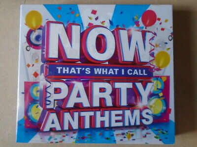 NOW That's What I Call Party Anthems  CD  NEW & Sealed  WB1