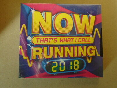That's What I Call Running by Various (CD, 2018, NOW) NEW & Sealed WC2