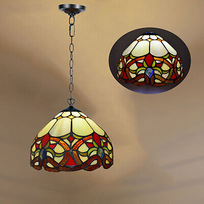 """Beautiful Antique Design Hand Crafted Tiffany Lamp Stained Glass 10"""" Shade"""