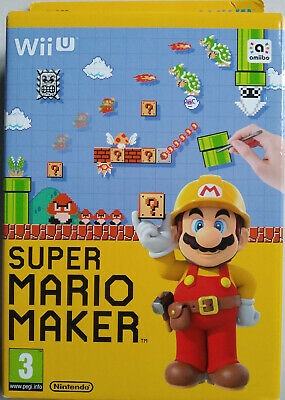 JEU VIDEO WII U  SUPER MARIO MAKER  neuf sous blister