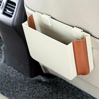 Multi Function Expandable Car Trash Vehicle Storage Rubbish Bin Seat Attachable