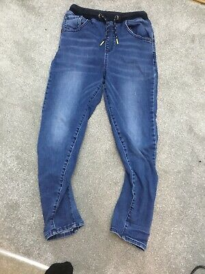 Boys Next Denim Jeans Aged 9 Years Excellent Condition Elasticated Waist