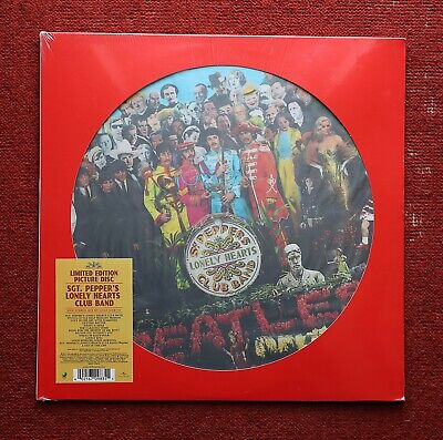 The Beatles - Sgt. Pepper's Lonely Hearts Club Band Picture Disc 2017