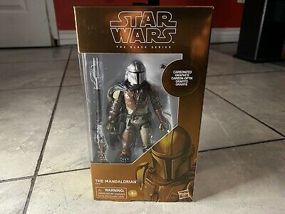 "Hasbro Star Wars Black Series The Mandalorian 6"" Carbonized #94 TARGET EXCLUSIVE"
