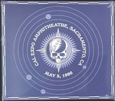 Grateful Dead- Cal Expo Amphitheater- 5-3-86- Dbl CD - Brand New