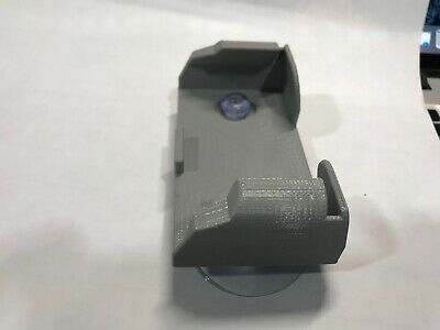 Black MINI EZ Pass Clip Electronic Toll Pass Holder for the New Small EZ Pass