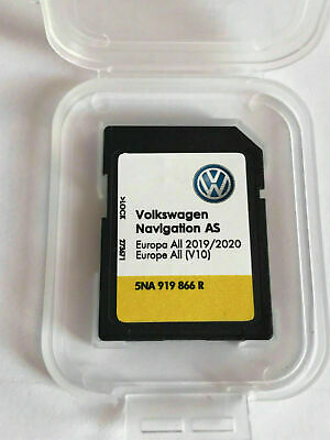 VW VOLKSWAGEN AS MIB2 SD V10 Card Navigation DISCOVERY MEDIA Europe 2019 - 2020