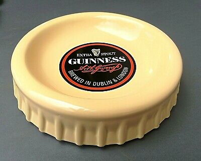 """Guinness - Extra Stout - Posacenere Vintage - """" Hcw - Hancock - Burleigh Ware """""""