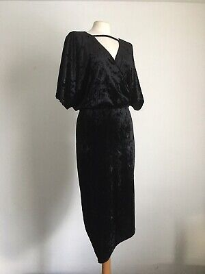 New Simply Be black floral print v neck tunic dress sizes 12 to 22 ref M34 SALE!
