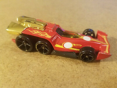 DANICAR Hot Wheels 2011 HW New Models #1 Red T9671 Malaysia Loose Danica Patrick