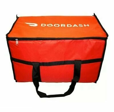 Doordash Drive Official Catering Bag Large Insulated Food Delivery Hot Bag