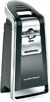 Black Electric Automatic Can Opener All Size and Pop Top Cans Easy To Use