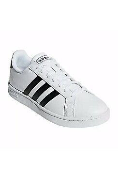 Mens Adidas Grand Court Shoes Size 8 NEW